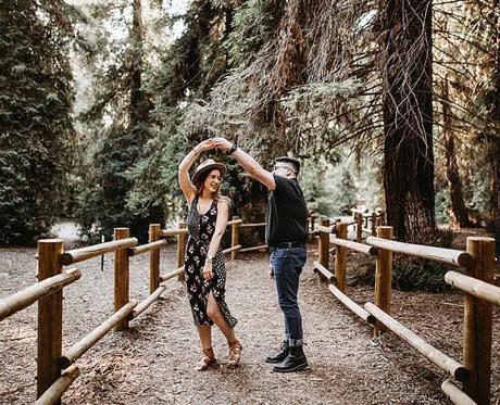 upbeat wedding songs couple dancing together