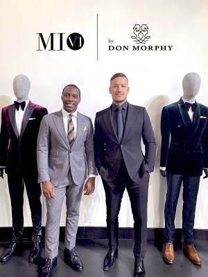 Kathy Ireland Partners With Dallas Designer Don Morphy For Custom Suit Collection