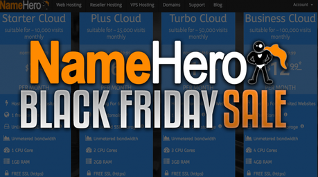 [Verified] NameHero Black Friday/Cyber Monday Sale 2019 | Coupon Code