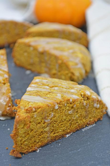 Gluten & Dairy Free Pumpkin Scones (Paleo Friendly)