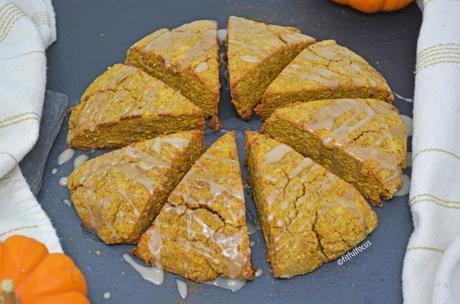 Gluten & Dairy Free Pumpkin Scones (Paleo Friendly)