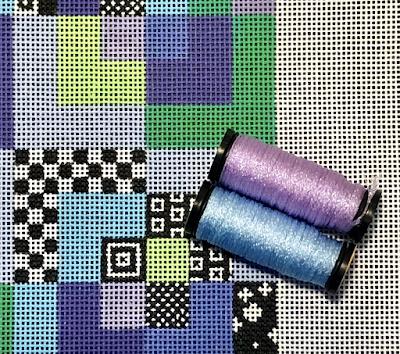 New Kreinik Metallic Colors and EyeCandy!