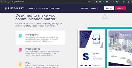 Piktochart - Create beautiful Infographics, Presentations & Flyers