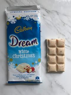 Cadbury Dream White Christmas Review