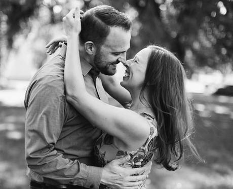 funny wedding readings grayscale photo couple happy