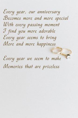 14 Beautiful Wedding Anniversary Poems Paperblog