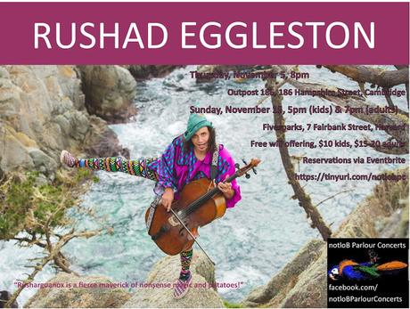 notloB is Coming out of Hibernation, presenting Rushad Eggleston December 5 & 15