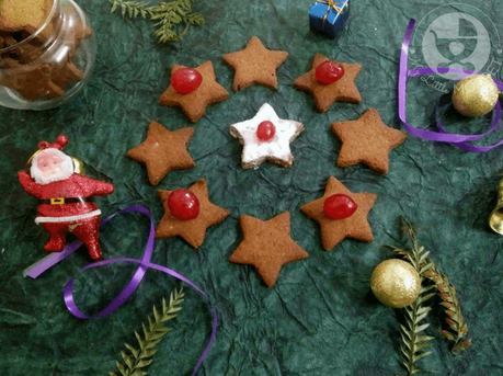 Gingerbread goodies are popular during Christmas season, but what we've got today is different! Try out these Sathumaavu Gingerbread Cookies - super healthy and yummy too!
