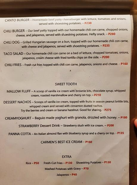 main dishes with desserts menu (page 2)