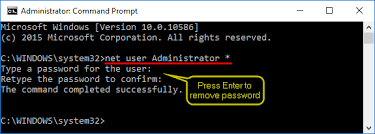 How to Reset Windows 10 Administrator Password if Forgotten