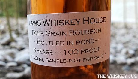 Laws 6-Year Bonded Four Grain Bourbon Details