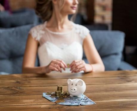 average price of a wedding average wedding cost bride save money for a wedding
