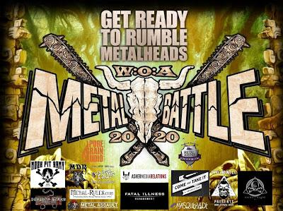 Band Submissions Deadline Extended - WACKEN METAL BATTLE USA 2020