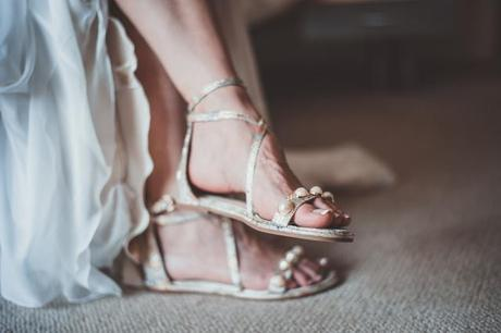 Wearing Flat Shoes Instead Of Heels This Prom