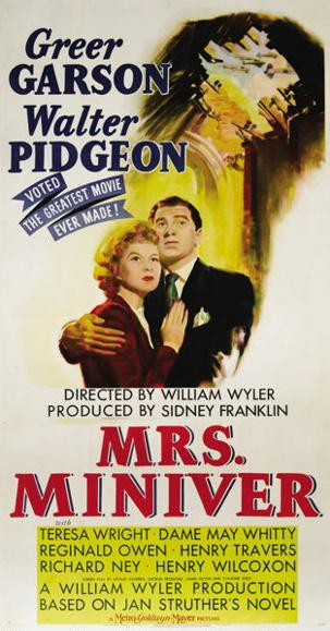 Mrs Miniver (1939) by Jan Struther