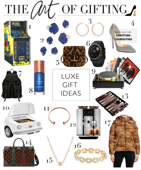 GIFT GUIDE // Luxe Gift Ideas