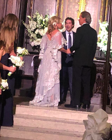 Joel Osteen Officiates Wedding Of Sharon Lee Bush & Robert Murray