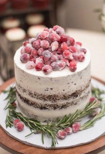 winter wedding cakes small cake snow berry morganphillipscakes