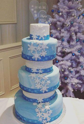 winter wedding cakes blue snowflake cake cakeycakeycakes
