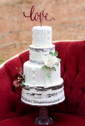 winter wedding cakes rustic white cake brighteyescakedesign