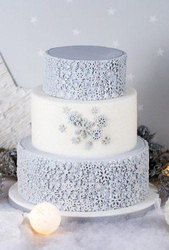 winter wedding cakes silver snoflake cake karen davies sugarcraft
