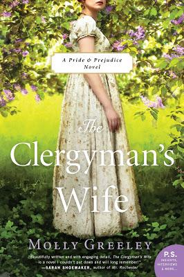 THE CLERGYMAN'S WIFE BLOG TOUR - GUEST POST + EXCERPT