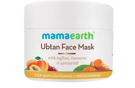 mamaearth face ubtan review
