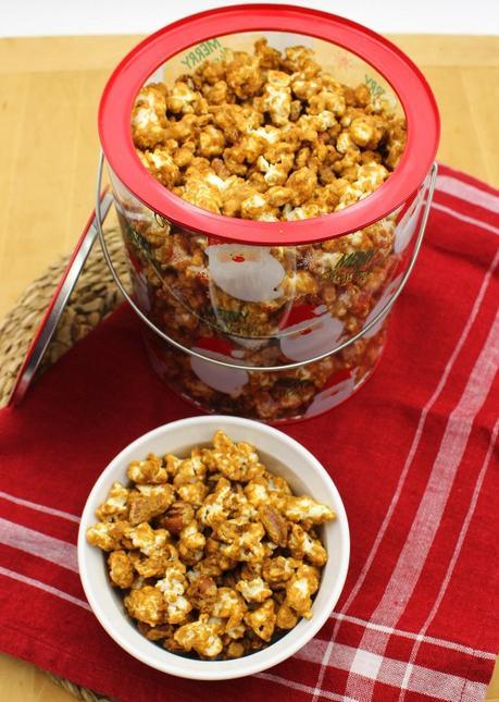 Maple Pecan Caramel Corn