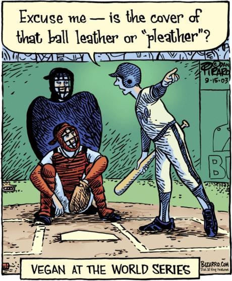 Vegan baseball