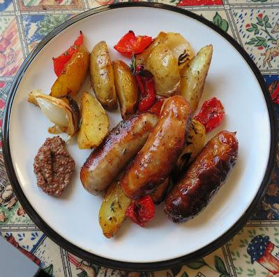 Roasted Sausage & Potato Supper