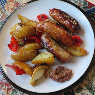 Roasted Sausage & Potato Supper