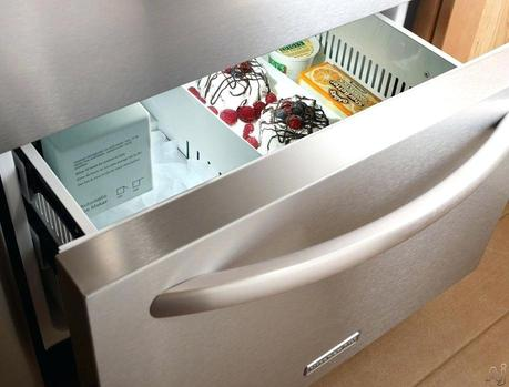 kitchenaid drawer fridge refrigerator bottom freezer removal pin on basement