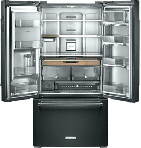 kitchenaid drawer fridge guide 5 door refrigerator review gypsy built in