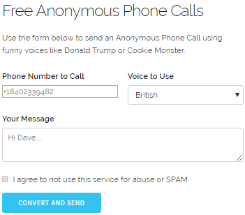 best fake sms anonymous sending apps