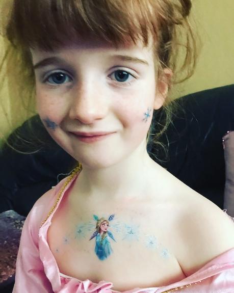 Disney Frozen 2 face paintoos