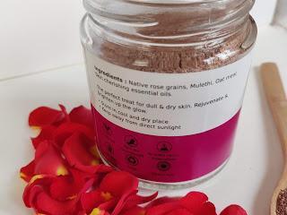 Deyga Organics Rose & Mulethi Face Pack Review