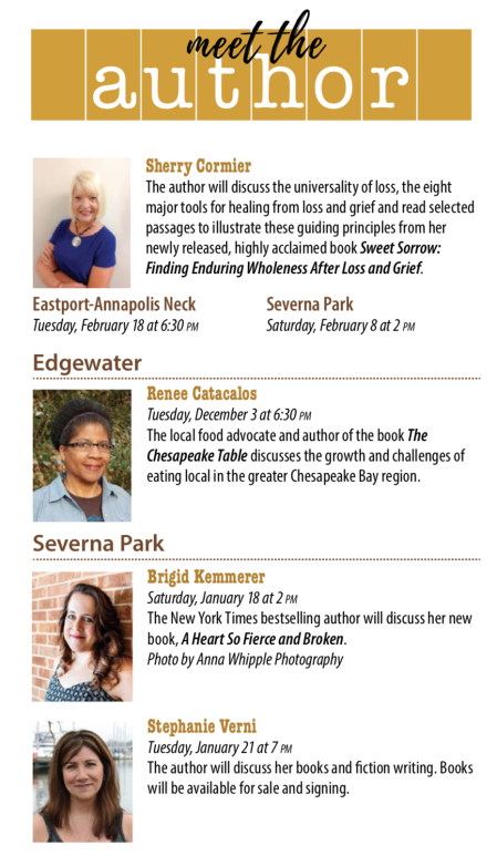 Excited for an upcoming book talk in January…and how reading benefits us