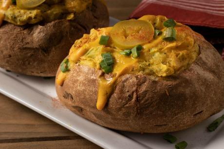 Vegan Twice Baked Potatoes
