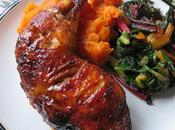 Delectable Mustard Baked Chicken