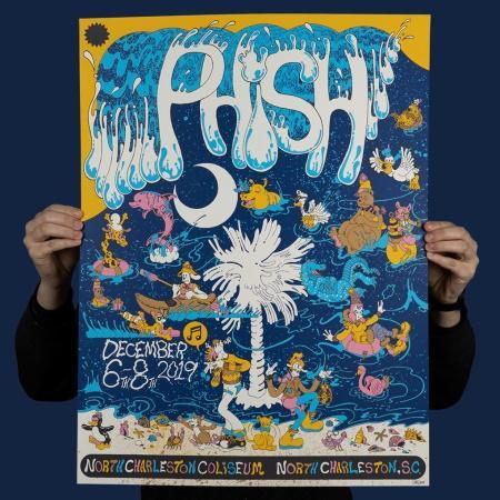 Phish 2019 Fall tour SBD + torrents:  2019/12/08 Charleston, SC