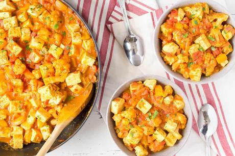 Vegan Tikka Masala with Tofu