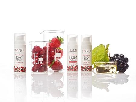VIANEK perfect botanical super brand with options for every skin type