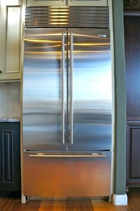 refrigerators custom panels refrigerator door panel french wood