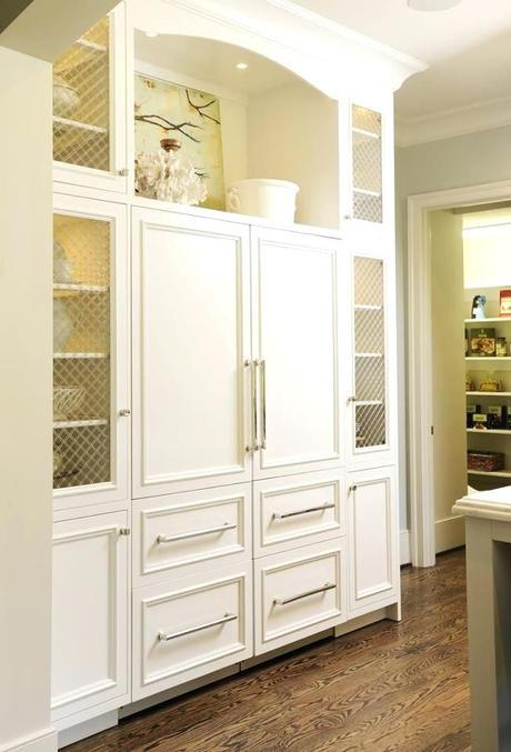 refrigerators custom panels refrigerator door a close up of heather kitchen