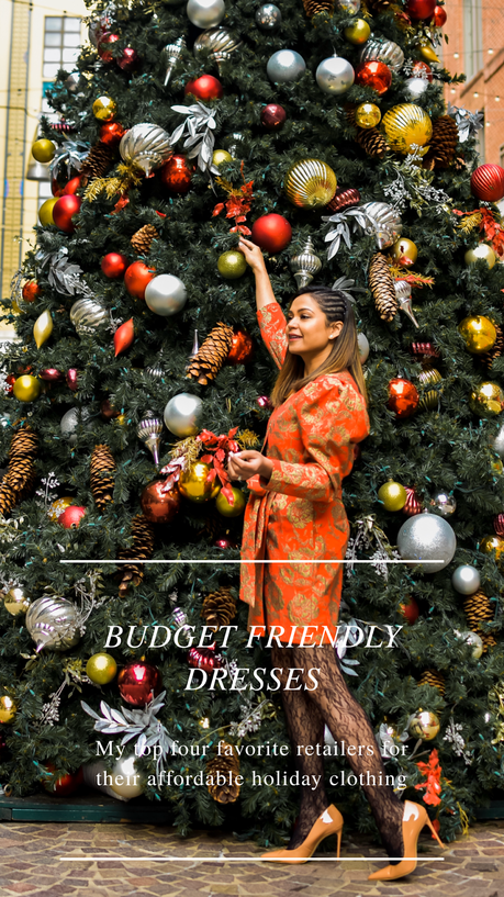 BUDGET-FRIENDLY DRESSES FOR HOLIDAYS AND NYE PARTIES, STYLE SWAP TUESDAYS ( LINK UP )