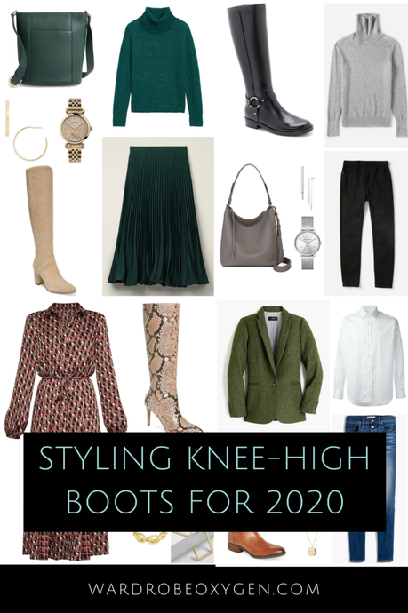 How to Style Knee-High Boots for 2020
