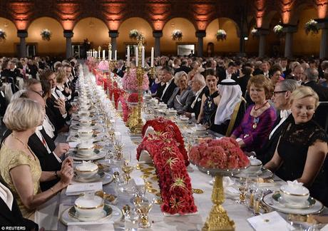Nobel dinner today ~ protests against Peter Handke's literature Nobel 2019