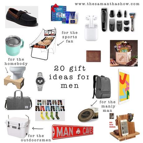 20 gift ideas for men