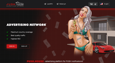 How To Monetize Push Ads With Push.House and Partners.House