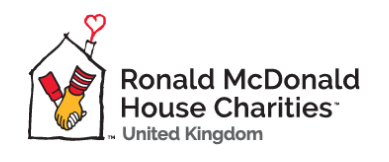 The Ronald McDonald House Charities logo